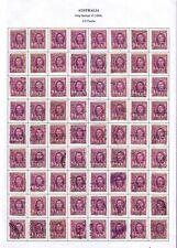 """1944 Australia """"King George Vi"""" 2 D Used 72 Stamps"""