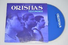 Orishas ‎– Testimonio. CD-SINGLE PROMO