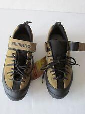 SHIMANO SPD SH-M035 Beige Mountain Biking Cycling Shoes NEW Men's 7.5M EU41