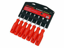 7PC Metric Nut Socket Driver Set 6, 7, 8, 9, 10, 11, & 12mm Storage Rack