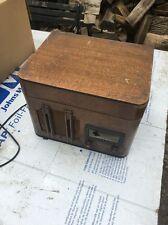VTG uPcYcLe ARVIN LP RECORD PLAYER VACUUM TUBE RADIO Phonograph Wood Model 88