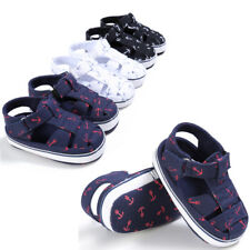 0-18M Baby Infant Kid Boy Girl Soft Sole Crib Toddler Summer Sandals Shoes