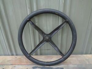 Ford Model T 16 7/8 Rubber Steering Wheel No Cracks Jalopy SCTA TROG Hot Rat Rod