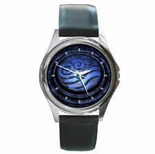 Avatar The Last Air Bender water crest ultimate leather wrist watch