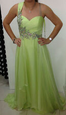 Handmade Lime Green Long Night Gown Size 4/SMALL