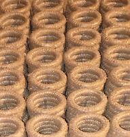 10 Stück Strohkranz 16cm Strohkränze Türkranz Advent Rohling Strohrömer 16x2cm
