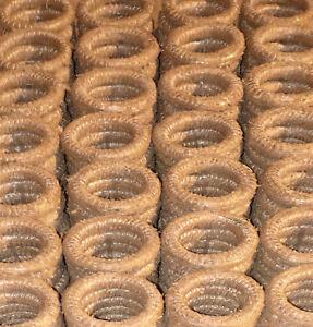 10 Stück Strohkranz 35cm Strohkränze Türkranz Advent Rohling Strohrömer 35x6cm