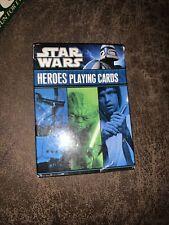 Star Wars Heroes Playing Cards Deck Cartamundi Brand