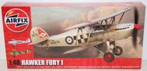 Airfix 1/48 Scale A04103 - Hawker Fury 1 - Model Kit Factory Sealed