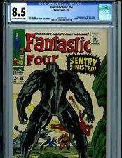 Fantastic Four # 64 CGC 8.5 1967  Marvel Comic 1st Kree Sentry Amricons B12