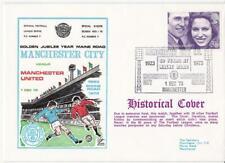 Dawn Football Event Cover (307) - Manchester City v Manchester Utd (+ Address)