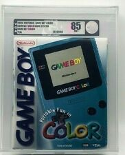 GameBoy Game Boy Color Console Teal NES New VGA Graded 85 Silver Near MINT RARE