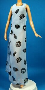 Barbie Styled by Marni Senofonte Designer Body Suit and Sheer Print Dress