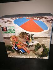 Italocremona L'OMBRELLONE DI CORINNE per Bambola 37 cm MIB Vintage