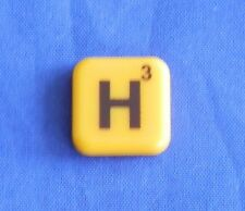 Words With Friends Letter H Tile Replacement Magnet Game Part Piece Craft Yellow