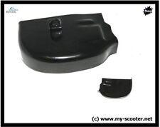 Schwarze Motorroller-Teile für hinten