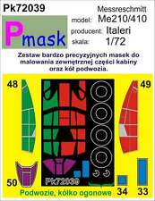 MESSERSCHMITT Me-210/Me-410 PAINTING MASK TO ITALERI KIT #72039 1/72 PMASK