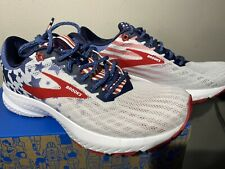 New Brooks Launch 6 Size 6 Womens Stars and Stripes USA Old Glory 4th of July