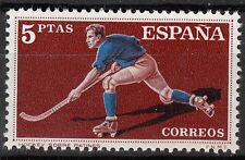 TIMBRE ESPAGNE  NEUF N° 996 ** SPORT  HOCKEY SUR PATIN A ROULETTES