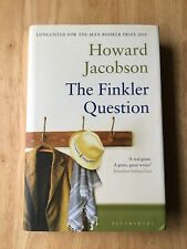 The Finkler Question - Howard Jacobson - Hardback Book