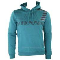 Emporio Armani EA7 Men's sweatshirt hoodie green 6gpm30 fall / winter
