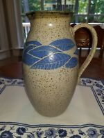 "Rare Manigault of Charleston, SC 10.5"" Pottery Pitcher 1980 Signed"