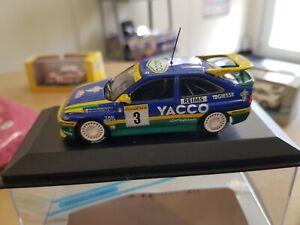 Minichamps 1.43 Scale Escort Rs Cosworth no 3 car winner 1996 monte carlo RARE