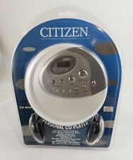 Citizen Portable Personal Cd Player Cd-800 (New)