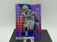 2020 Panini Mosaic Football Joey Bosa #111 Purple Prizm  /49 LA Chargers