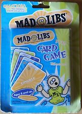 New:  MAD LIBS Card Game © 2002 Worlds Greatest Word Game