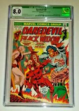 Daredevil #105 - CGC 8.0 White Pages (Marvel Comics, 1973) QUALIFIED Moonshadow