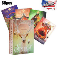 The Spirit Animal Oracle Cards by Colette Baron-Reid Deck Tarot Educational Game