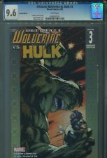 Ultimate Wolverine vs. Hulk CGC 9.6 Variant Cover Adam Kubert X-Men Incredible