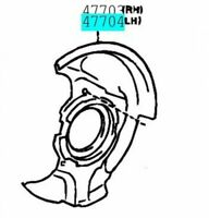 TOYOTA Genuine 47782-10070 Disc Brake Dust Cover