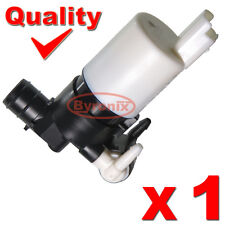 PEUGEOT 207 307 308 807 1007 WASHER PUMP ELECTRIC MOTOR TWIN DOUBLE WATER OUTLET