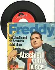 "Freddy, Abschied vom Meer, 7"" Single, 0013"