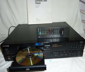 SONY ESPRIT-SERIE X339ES; HIGH END CD-PLAYER - X 339 ES (95)