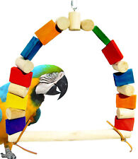 1280  parrot cage toy cages swing conure quaker african grey macaw amazon