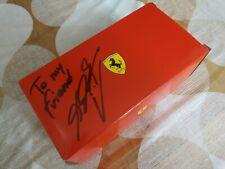 Ferrari F300 Natale dipendenti autografata da Michael Schumacher