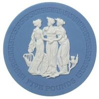 2018 Wedgewood Jasperware Three Graces Handmade Coin