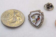 Maryland Baltimore Oriole Bird Shield Lapel Pin Pinback Hat Travel