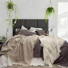 Pure French Linen Sheet Set Fitted Flat Sheet Set - Mushroom Grey King Size