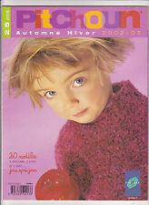 CATALOGUE TRICOT PHILDAR PITCHOUN N°373 Automne-Hiver 2002-2003