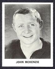 1965 COCA-COLA COKE JOHN MCKENZIE N-MINT NEW YORK N Y RANGERS  HOCKEY CARD