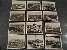 12 Vintage Photos GT YARMOUTH ~ SMALL B+W Old Photos Place Names Printed to Rear