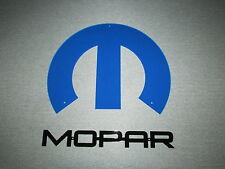 "Large 2 Piece Mopar Wall Sign 16"" Laser Cut Chrysler Plymouth Dodge Hot Rod"