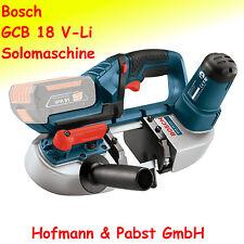 Bosch GCB 18 V-Li Akku - Bandsäge Solomaschine