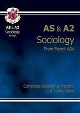 AS/A2 Level Sociology AQA Complete Revision & Practice: CGP Books: