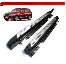 11-17 BMW F25 X3 Aluminum Running Boards Pair Set Side Steps OE Style Rail Nerf