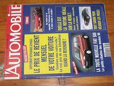 $$$ Revue L'automobile N°547 Fiat 500Ferrari Testarossa 512 TRParis-Sirte-Le